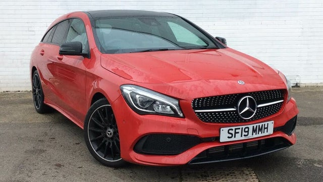 2019 Mercedes-Benz CLA 2.1d CLA 220d AMG Line Night Edition (170ps) (Plus)(s/s) Shooting Brake 5d (19 reg)