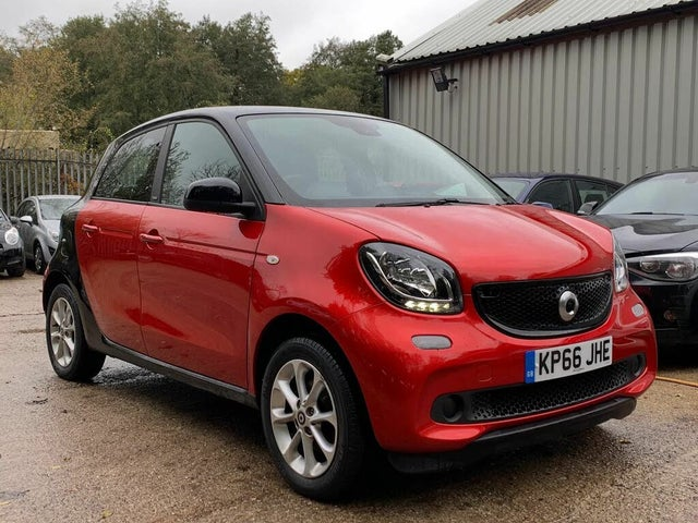 2016 Smart forfour 1.0 Passion (71bhp) (s/s) (66 reg)