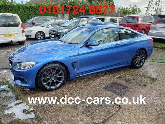 2017 BMW 4 Series 2.0TD 420d M Sport Coupe 2d (17 reg)