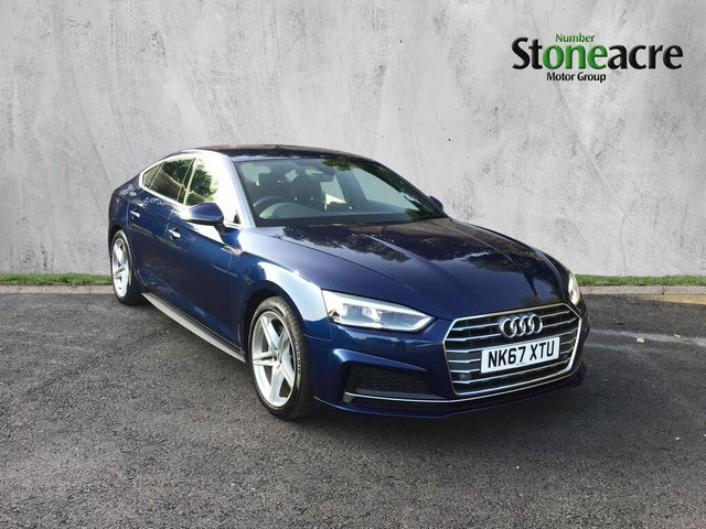 2017 Audi A5 2.0TDI S Line (190ps) Sportback 5d (67 reg)