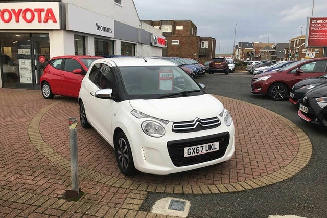 2017 Citroen C1 1.2 PureTech Flair 3d (67 reg)
