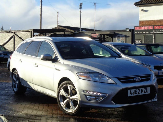 2012 Ford Mondeo 2.0TD Titanium (163ps) Estate (62 reg)