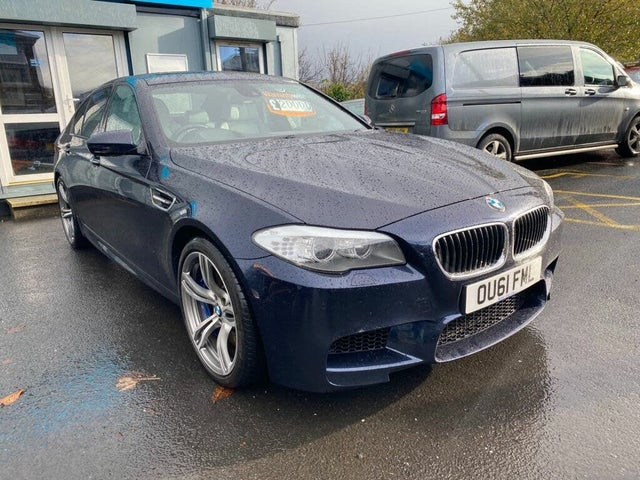 2012 BMW 5 Series 4.4 M5 auto (61 reg)