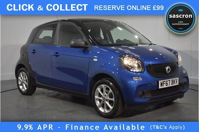 2017 Smart forfour 1.0 Passion (70bhp) (s/s) Twinamic (67 reg)