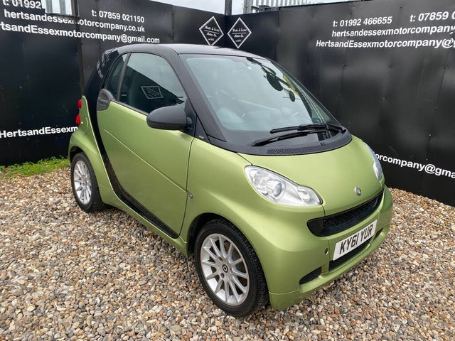 2011 Smart fortwo 0.8TD Passion Coupe Softouch (61 reg)