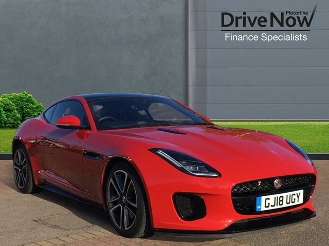 2018 Jaguar F-TYPE 3.0 V6 S/C R-Dynamic (340ps) Coupe Auto (18 reg)