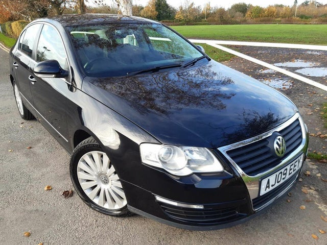 2009 Volkswagen Passat 2.0TD Highline CR (140PS) Saloon 4d DSG (09 reg)