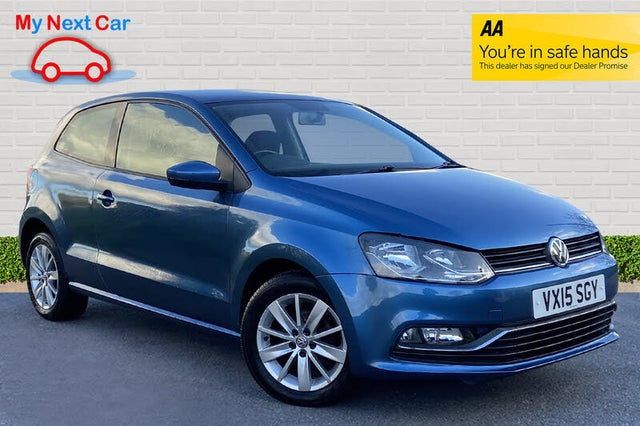 2015 Volkswagen Polo 1.0 SE (75ps) 3d (15 reg)