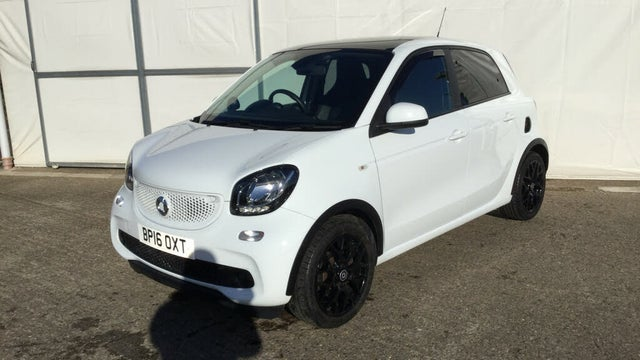 2016 Smart forfour 0.9 Edition White Twinamic (16 reg)