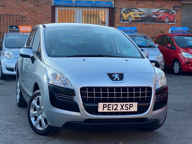2012 Peugeot 3008 Crossover 1.6TD Active 1.6HDi (12 reg)