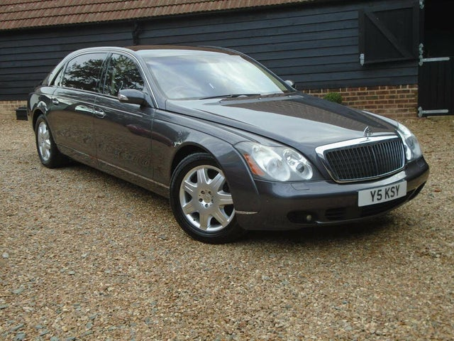 2005 Maybach 62 5.5 (KS reg)