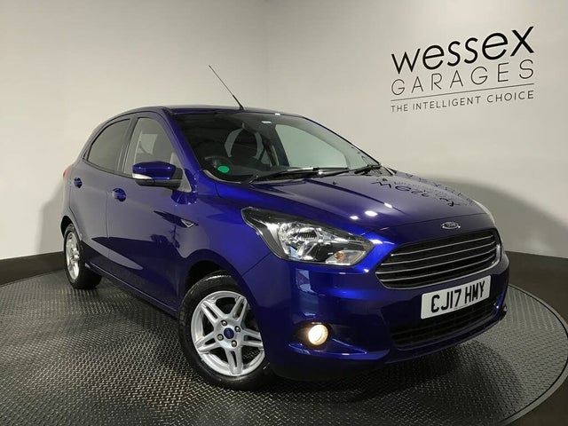 2017 Ford Ka+ 1.2 Ti-VCT Zetec (85ps) (17 reg)