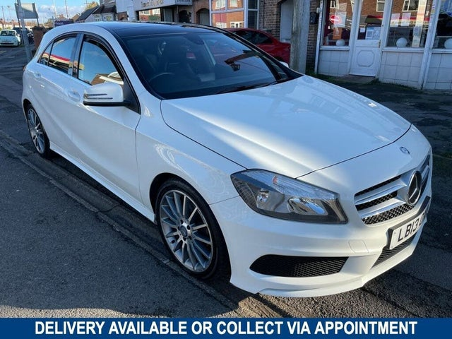 2013 Mercedes-Benz A-Class 1.5 CDI A180 AMG Sport (109ps) BlueEFFICIENCY (13 reg)