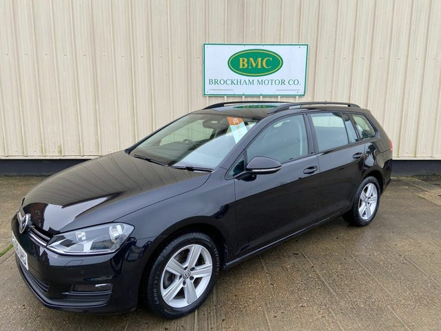 2016 Volkswagen Golf 1.6TDI Match Edition Estate 5d DSG (66 reg)