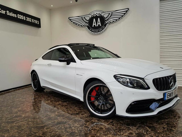 2019 Mercedes-Benz C-Class 4.0 C63 AMG S (Premium Plus) Coupe 2d (19 reg)
