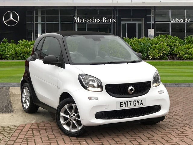 2017 Smart fortwo 0.9 Passion (90bhp) (s/s) Coupe (17 reg)