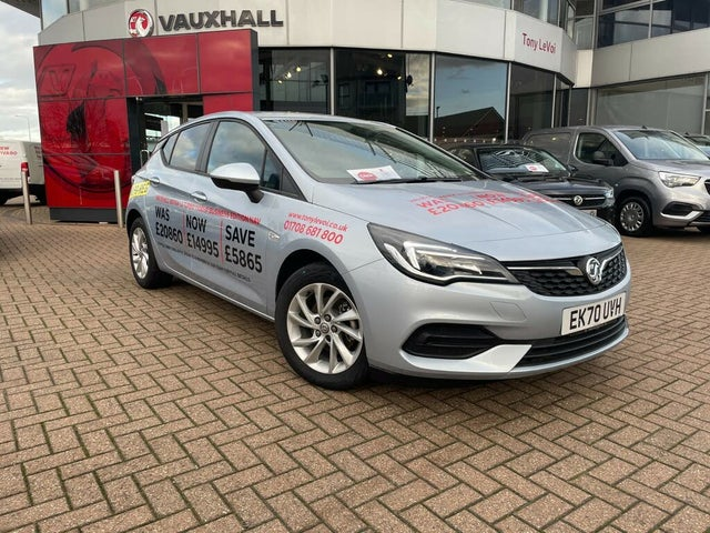 2020 Vauxhall Astra 1.2 Turbo Business Edition Nav (130ps) Hatchback (70 reg)