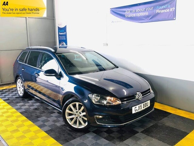 2015 Volkswagen Golf 2.0TDI GT Estate 5d (15 reg)