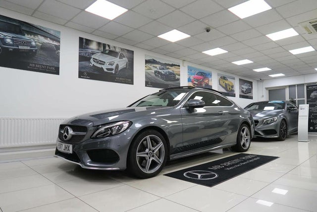 2017 Mercedes-Benz C-Class 2.1d C250d AMG Line (204ps) (Premium Plus)(s/s) Coupe 2d 9G-Tronic Plus (17 reg)