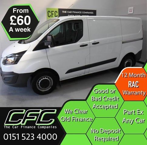 2015 Ford Transit Custom 2.2TDCi 290 L2H1 (125PS) Panel Van (15 reg)