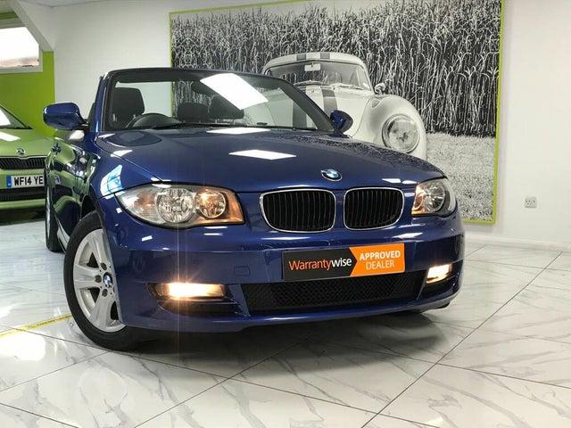 2010 BMW 1 Series 2.0TD 118d SE Convertible 2d (59 reg)