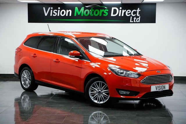 2017 Ford Focus 1.0T Zetec Edition (100ps) Estate (17 reg)