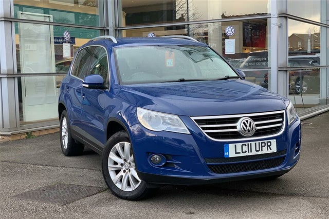2011 Volkswagen Tiguan 2.0TD Match BlueMotion Technology (11 reg)