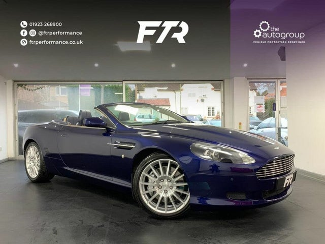 2008 Aston Martin DB9 5.9 Volante seq (08 reg)