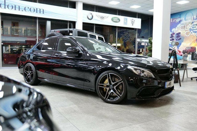 2017 Mercedes-Benz C-Class 4.0 C63 AMG (476ps) (Premium)(s/s) Saloon 4d Speedshift MCT (66 reg)