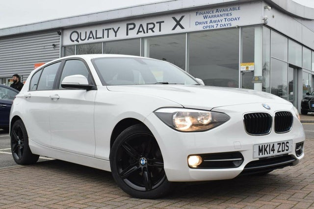 2014 BMW 1 Series 2.0TD 116d Sport (116bhp) (s/s) Sports Hatch 5d Auto (14 reg)