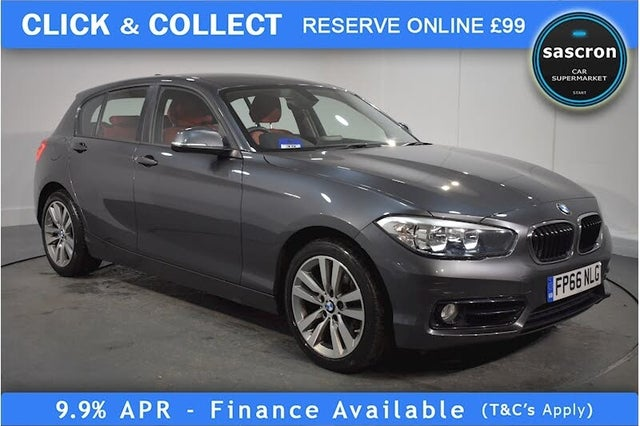 2016 BMW 1 Series (66 reg)