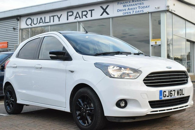 2017 Ford Ka+ 1.2 Ti-VCT Zetec White Edition (67 reg)
