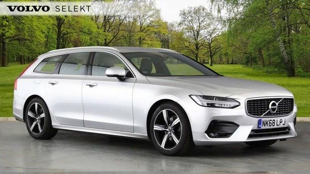 2018 Volvo V90 2.0TD D4 R-Design (68 reg)