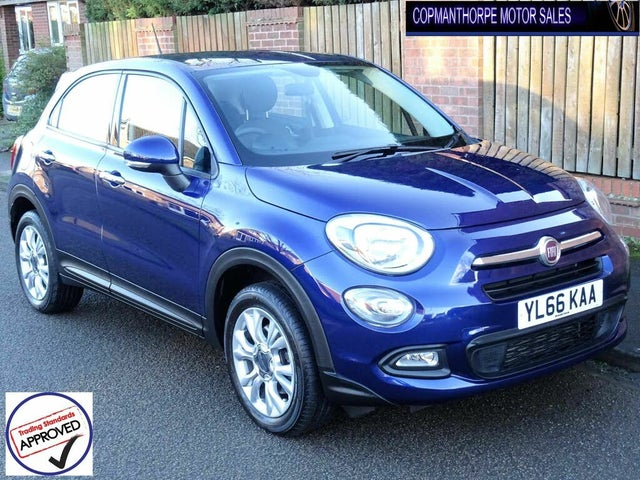 2017 Fiat 500X 1.4 MultiAir Pop Star (66 reg)