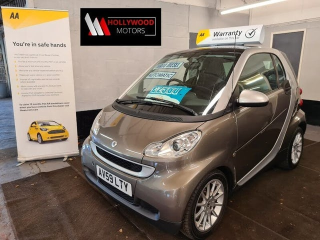 2009 Smart fortwo 0.8TD Passion (54bhp) Coupe (59 reg)
