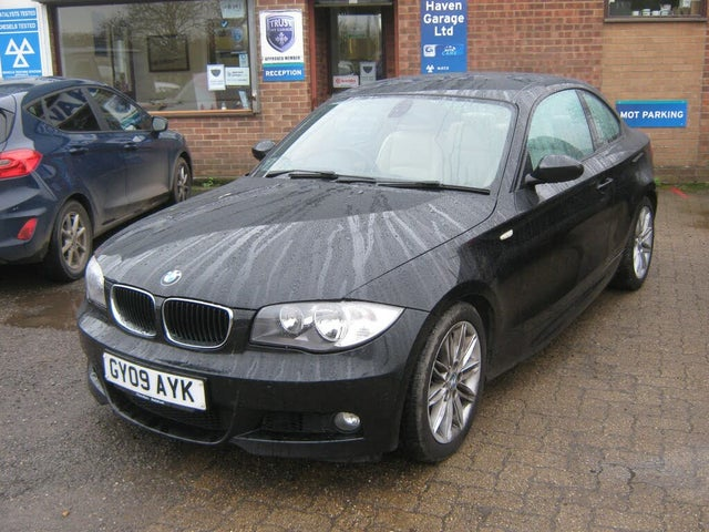 2009 BMW 1 Series 2.0TD 120d M Sport Coupe 2d (09 reg)