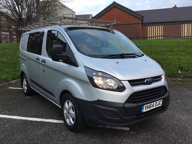 2014 Ford Transit Custom 2.2TDCi 290 L2H1 (100PS) Double Cab-in-Van (64 reg)