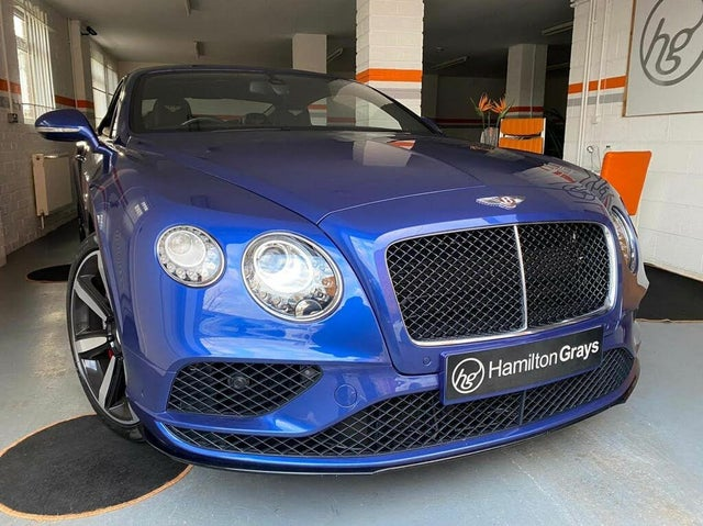 2016 Bentley Continental 4.0 GT V8 S 4X4 Coupe (16 reg)