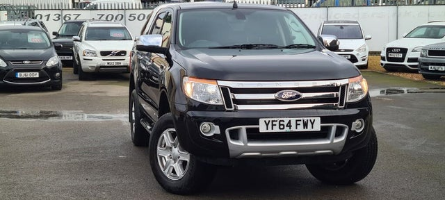 2015 Ford Ranger 2.2TD Double Cab Limited auto (64 reg)
