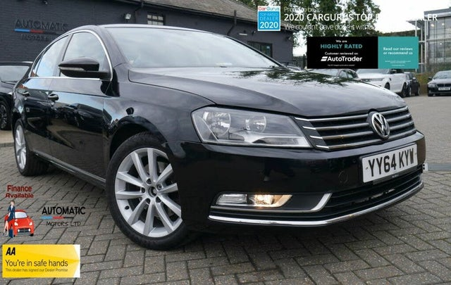 2014 Volkswagen Passat 2.0TDI Executive (140ps) (s/s) Saloon 4d DSG (64 reg)