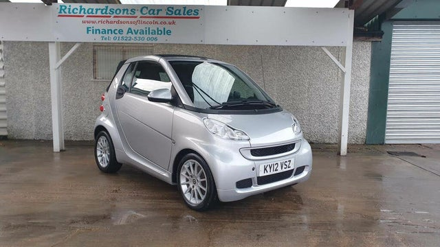 2012 Smart fortwo 1.0 Passion (71bhp) Cabriolet Softouch (12 reg)