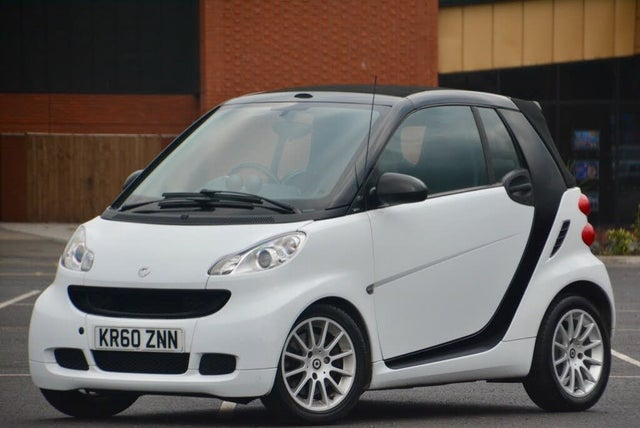 2011 Smart fortwo 0.8TD Passion Cabriolet Softouch (60 reg)
