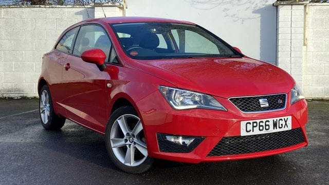2017 Seat Ibiza 1.2 TSI FR Technology (90ps) SportCoupe 3d (66 reg)