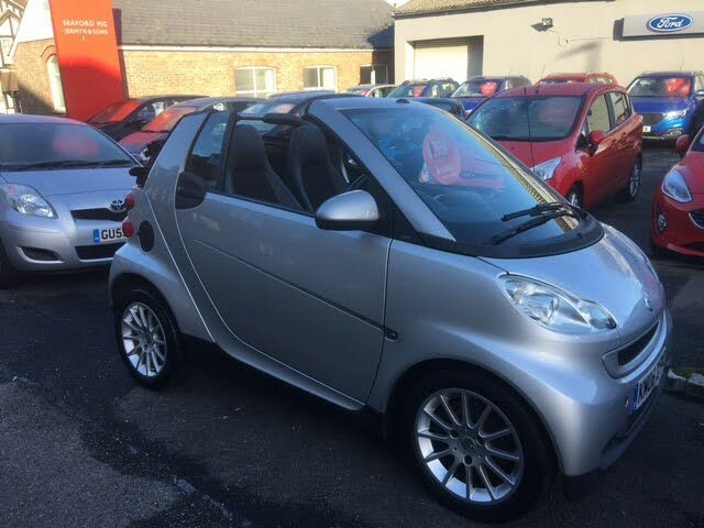 2008 Smart fortwo 1.0 Passion (71bhp) Cabriolet (08 reg)