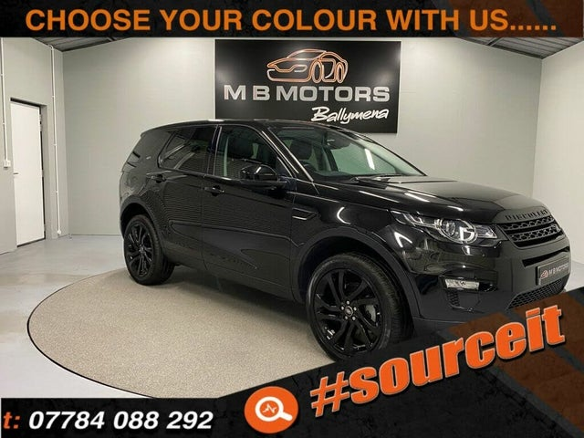 2018 Land Rover Discovery Sport 2.0Td4 HSE Black (18 reg)