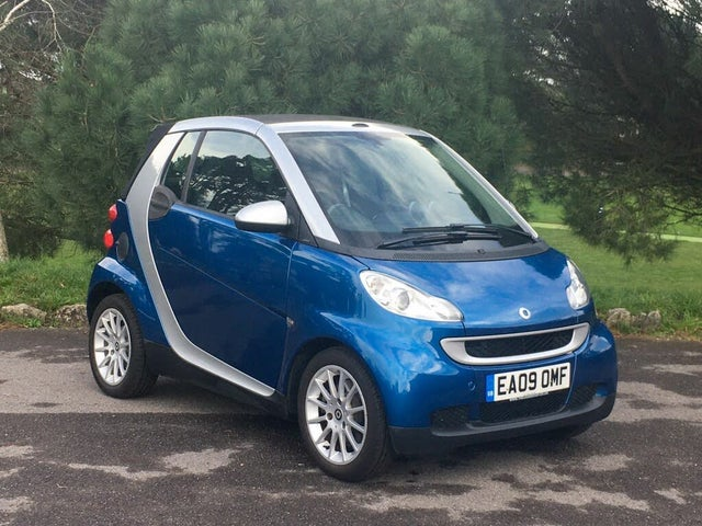 2009 Smart fortwo 1.0 Passion (71bhp) Cabriolet (09 reg)