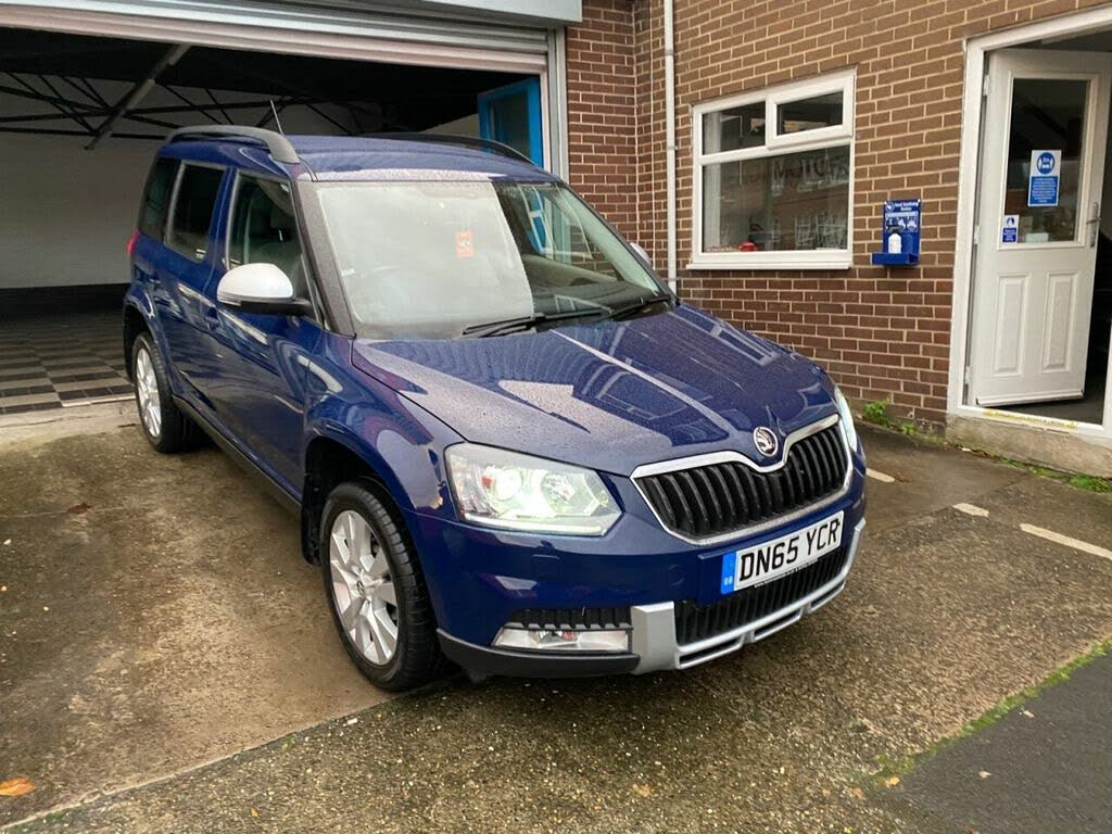 Used Blue Skoda Yeti Outdoor For Sale Cargurus