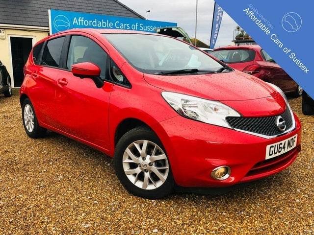 2014 Nissan Note 1.2 Acenta Premium (80ps) (Safety Style Pack) (64 reg)