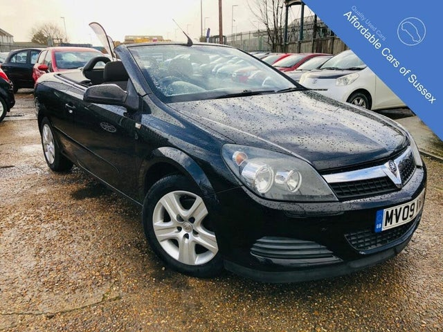 2009 Vauxhall Astra 1.6 Twin Top Air 16v (115ps) Coupe (09 reg)