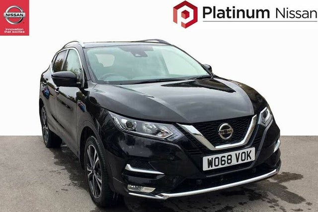 2019 Nissan Qashqai 1.5dCi N-Connecta (115ps) (Glass Roof Pack)(Executive Pack)(LED Pack) (68 reg)
